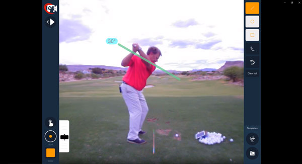backswing top
